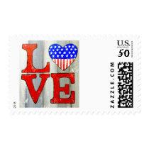 Love U.S.A. Postage stamp