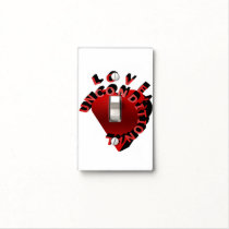 Love Unconditional Light Switch Cover