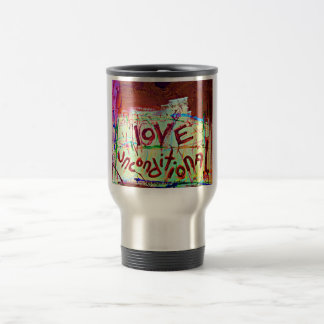 love unconditional travel mug