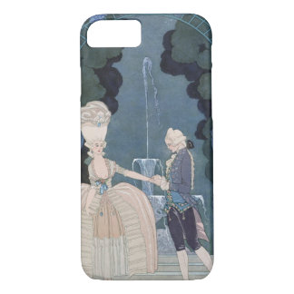 Love under the Fountain, illustration for 'Fetes G iPhone 8/7 Case