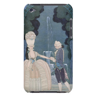 Love under the Fountain, illustration for 'Fetes G iPod Touch Case