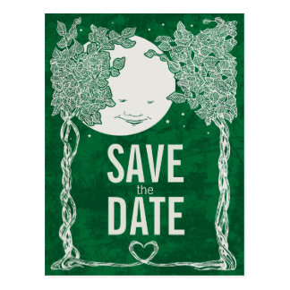 Love Under the Stars, save the date Post Card