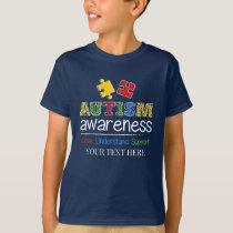 Love Understand Support Autism Awareness T-Shirt