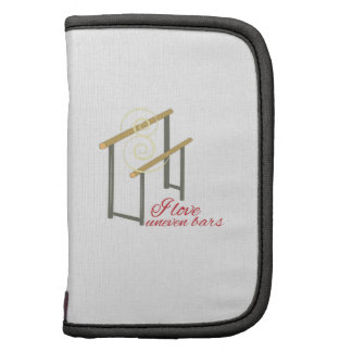 Love Uneven Bars Folio Planner