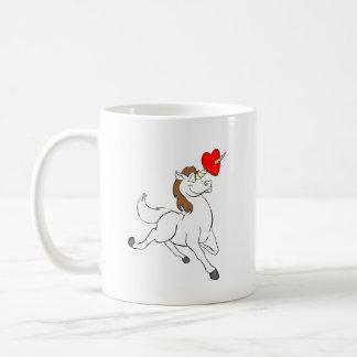 Love Unicorn Happy Valentine's Day Coffee Mug