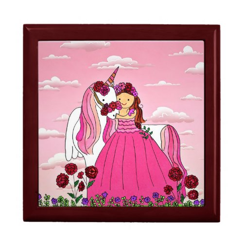 Love Unicorn Jewelry Box
