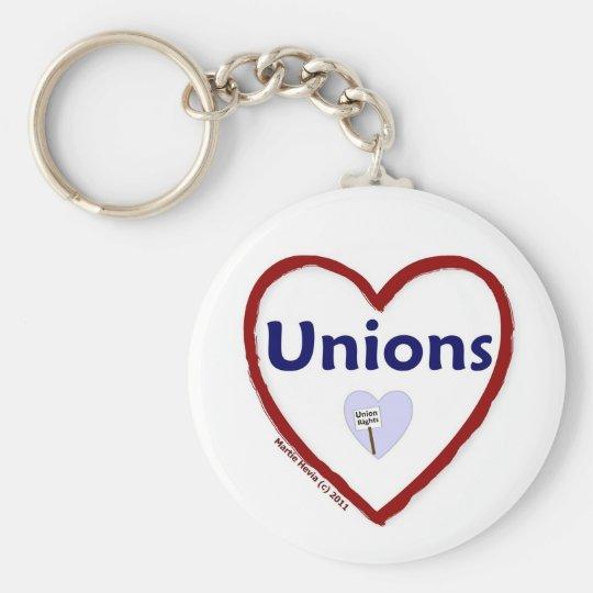 Love Unions Keychain