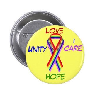 Love,Unity&Peace_ Pinback Button