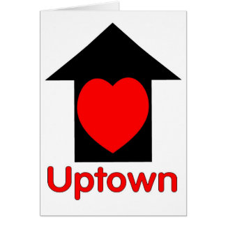 Love Uptown Greeting Card