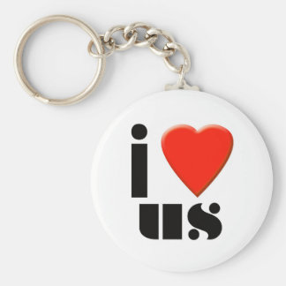 Love Us Keychain