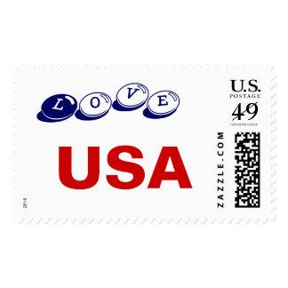 LOVE USA POSTAGE STAMPS