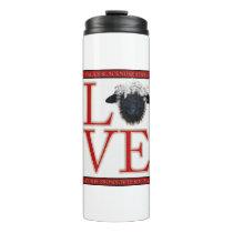 Love Valais Blacknose Sheep Thermal Tumbler