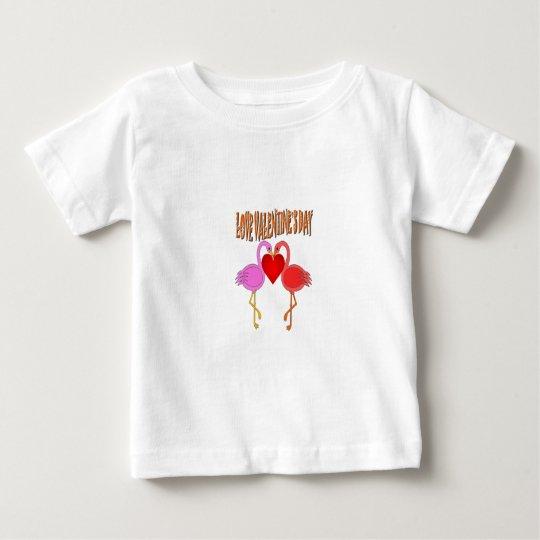 Love Valentine`s Day Baby T-Shirt
