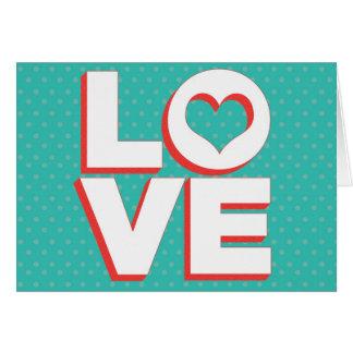 LOVE Valentine's Day Card
