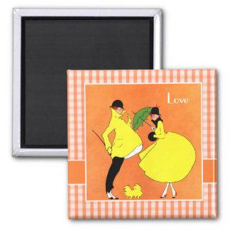 Love. Valentine's Day Gift Magnet
