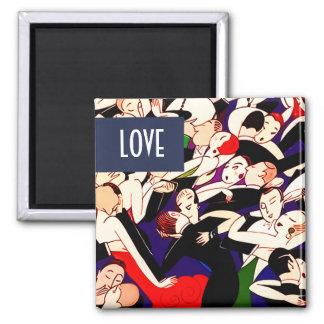 Love. Valentine's Day Gift Magnets