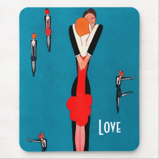 Love. Valentine's Day Gift Mousepad