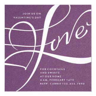 LOVE | VALENTINE'S DAY PARTY INVITATION