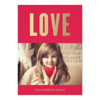 Love | Valentine's Day Photo Card