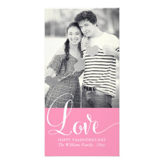 Love Valentine's Day Photo Cards