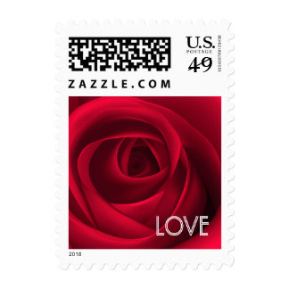 Love.Valentine's Day Postage Stamps