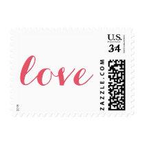 Love Valentines Day Wedding USPS Postage Stamp