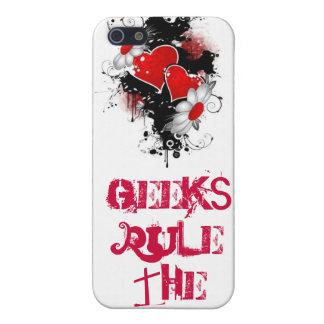 love-vectors, Geeks RULE the world iPhone 5 Case
