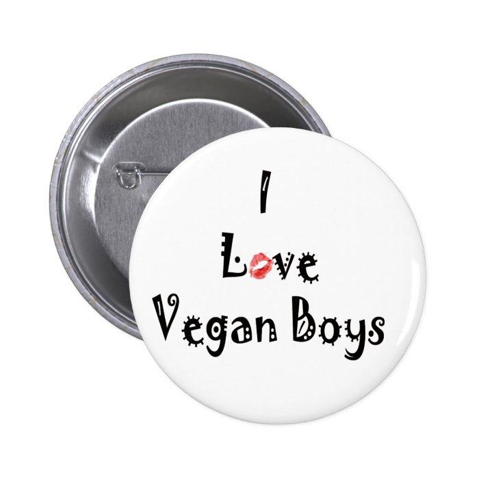 Love Vegans Button