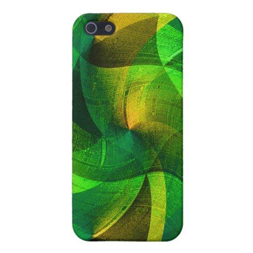 Love_ verde iPhone 5 protectores
