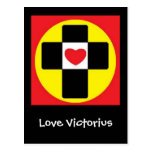 Love Victorious Post Card