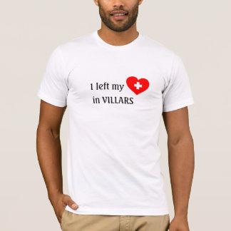 Love Villars souvenir t-shirt