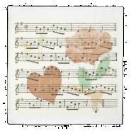 Love Vintage Music Duvet Cover