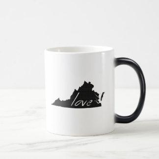 Love Virginia Magic Mug