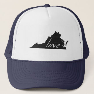 Love Virginia Trucker Hat