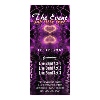 Love Visionary Event Party Flyer Custom Rack Cards