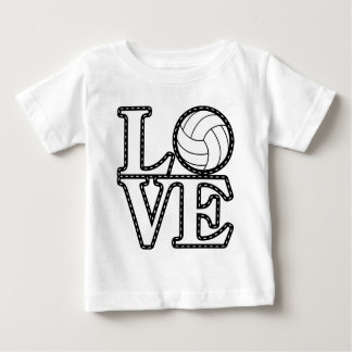 LOVE Volleyball Baby T-Shirt