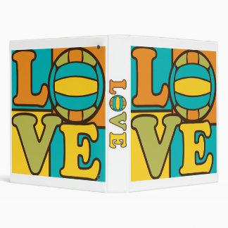 Love Volleyball Binder
