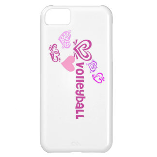 Love Volleyball iPhone 5C Covers