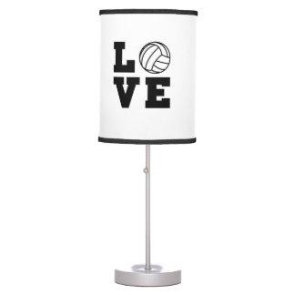 Love Volleyball Desk Lamp
