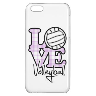 Love Volleyball iPhone 5C Cases