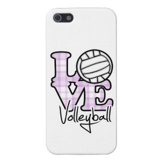Love Volleyball iPhone SE/5/5s Cover
