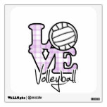 Love Volleyball Wall Graphics