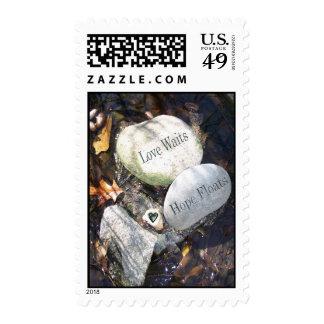 Love Waits, Hope Floats Stamp