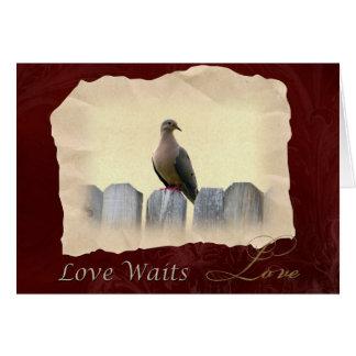 Love Waits I Love You Card