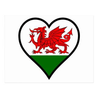 Love Wales Postcard