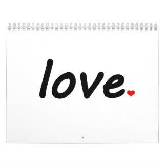 Love Wall Calendars
