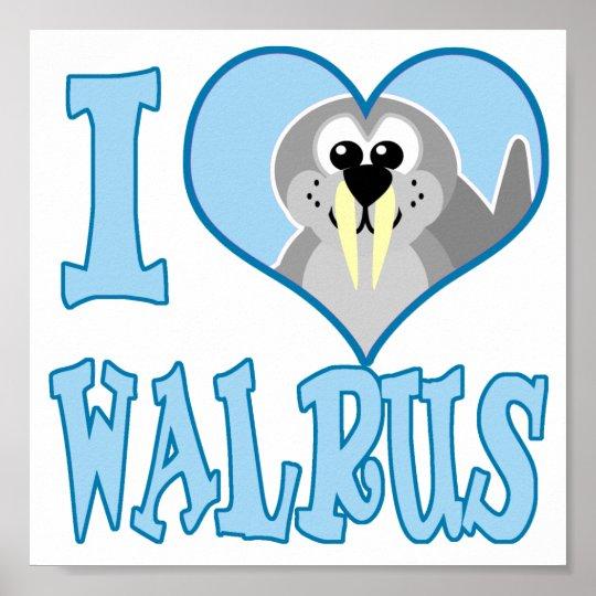 love walrus poster
