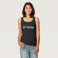 Love Warrior Basic Tank Top