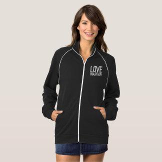 Love Warrior Fleece Track Jacket