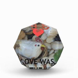 Love was in the Air Acrylic Award